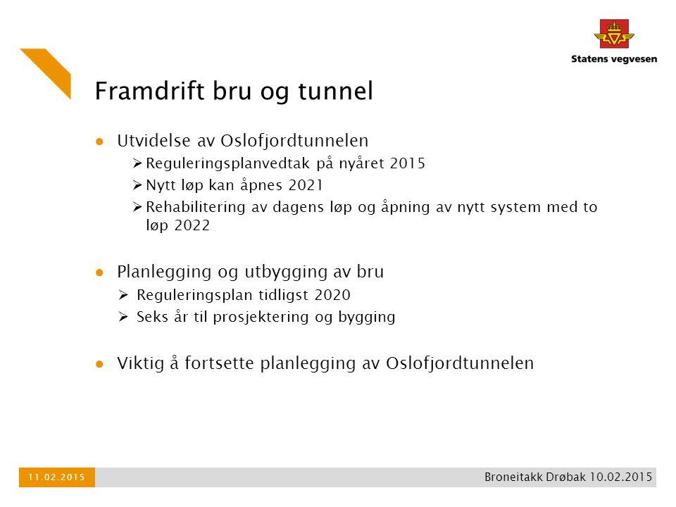 Framdrift bru og tunnel
