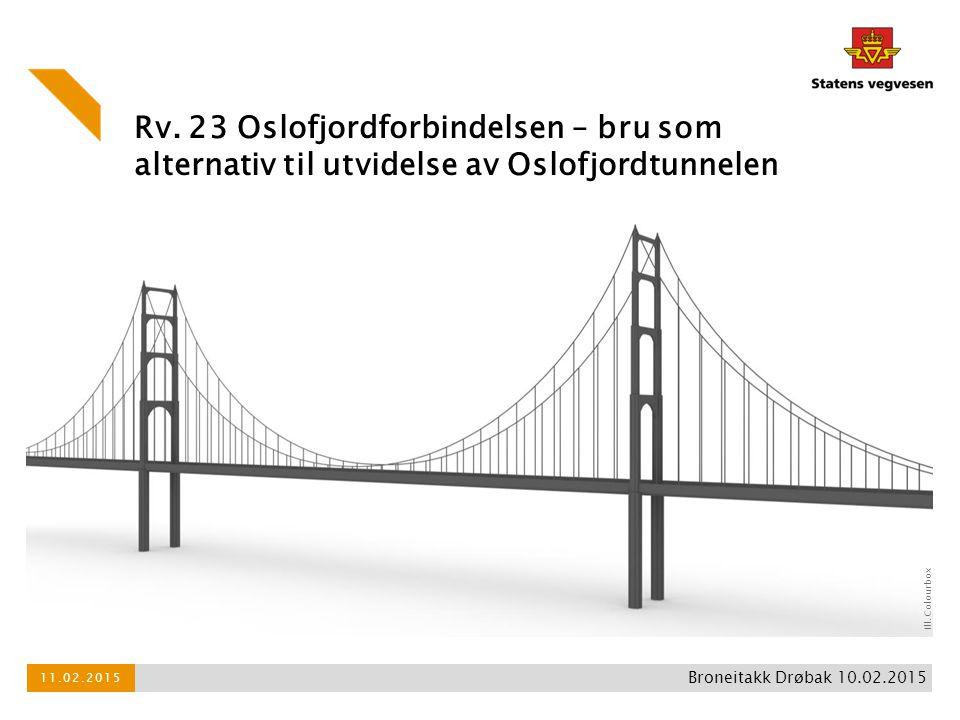 Rv. 23 Oslofjordforbindelsen – bru som alternativ til utvidelse av Oslofjordtunnelen