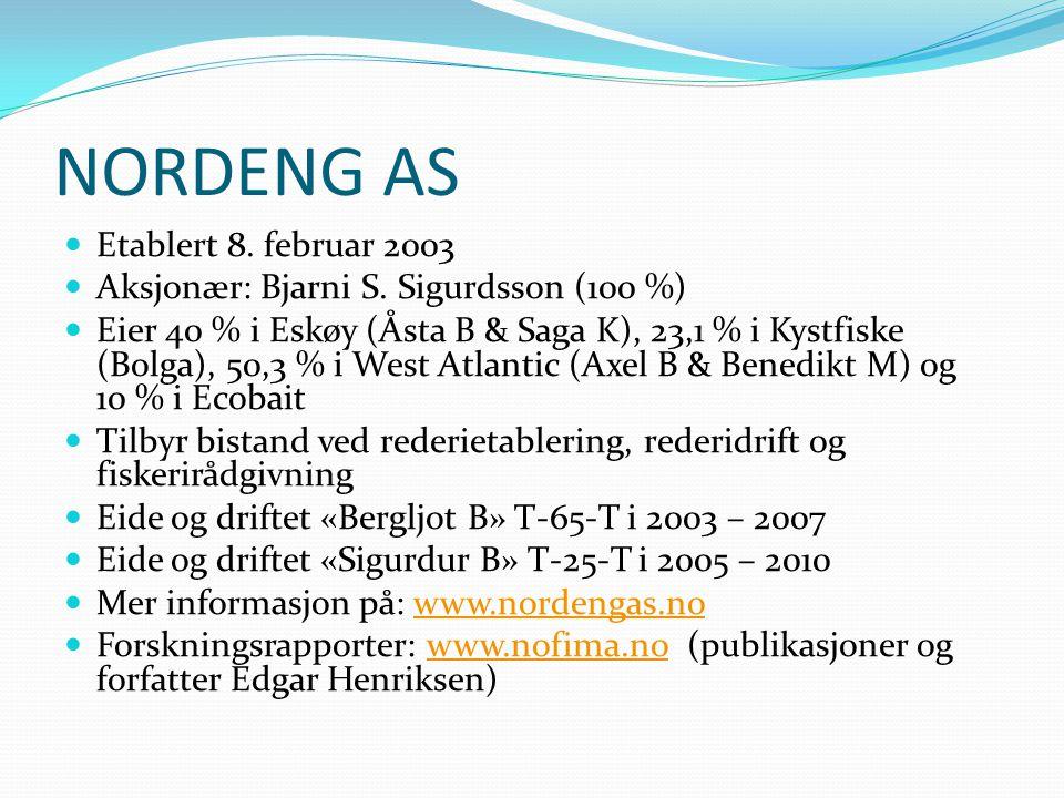 NORDENG AS Etablert 8. februar 2003