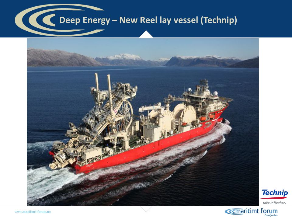 Deep Energy – New Reel lay vessel (Technip)
