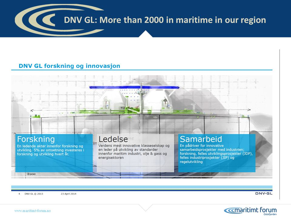 DNV GL: More than 2000 in maritime in our region