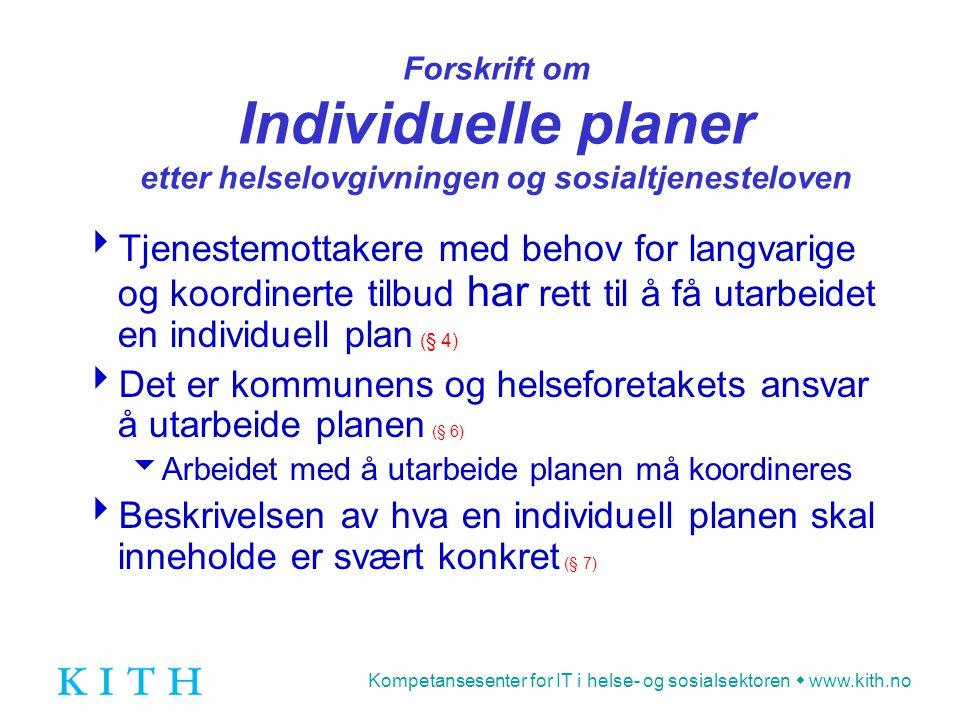 Det er kommunens og helseforetakets ansvar å utarbeide planen (§ 6)