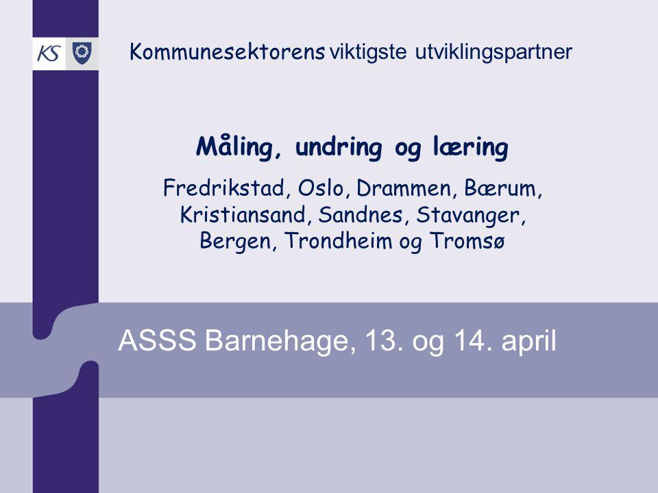 ASSS Barnehage, 13. og 14. april