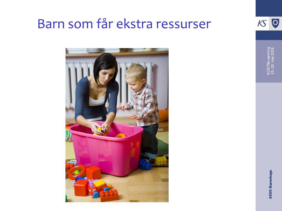Barn som får ekstra ressurser