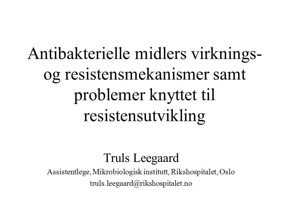 Assistentlege, Mikrobiologisk institutt, Rikshospitalet, Oslo