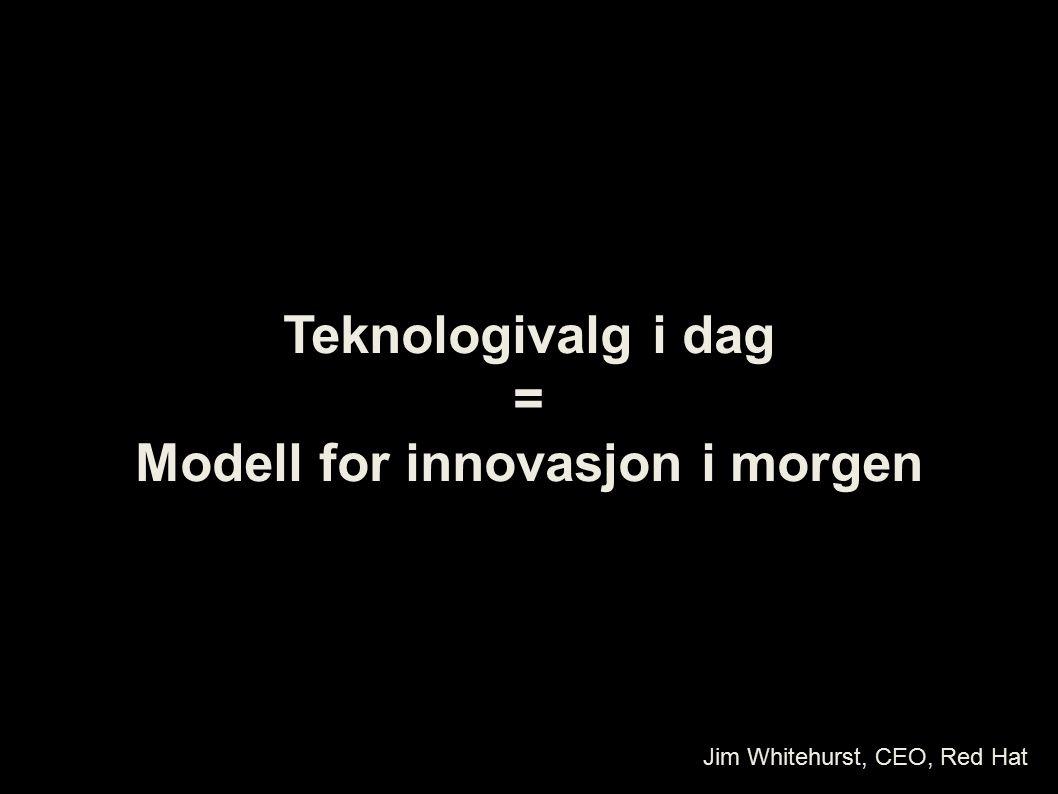 Modell for innovasjon i morgen