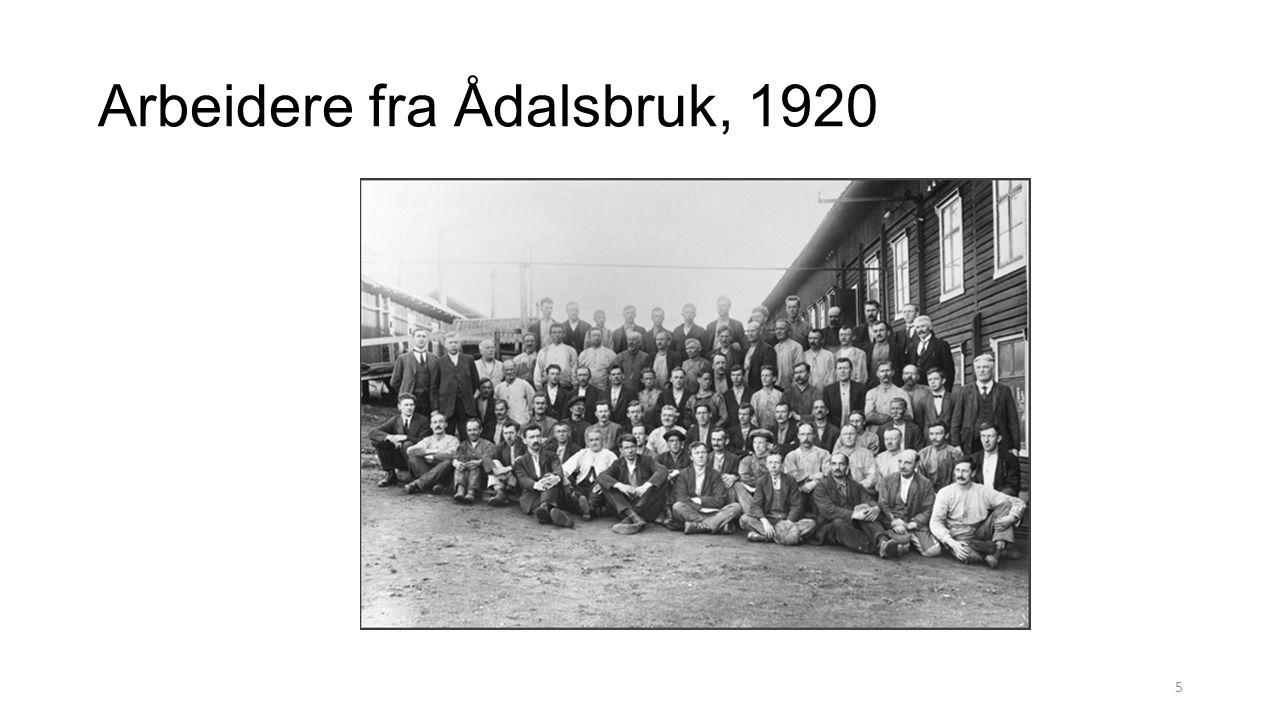 Arbeidere fra Ådalsbruk, 1920