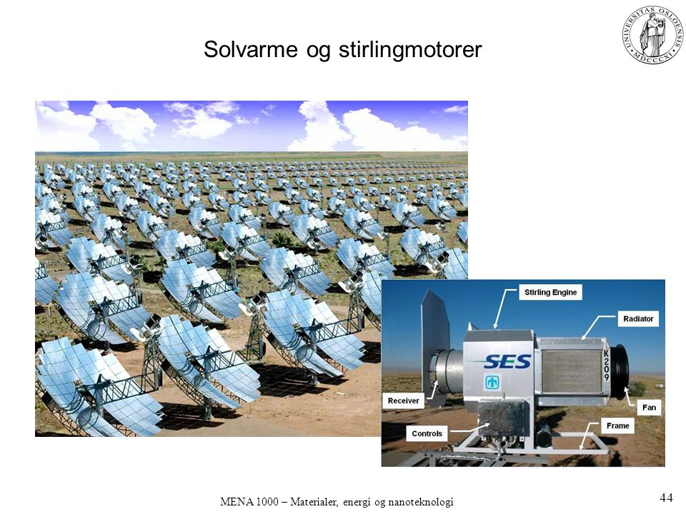 Solvarme og stirlingmotorer