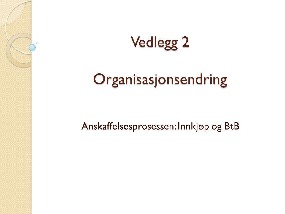 Vedlegg 2 Organisasjonsendring