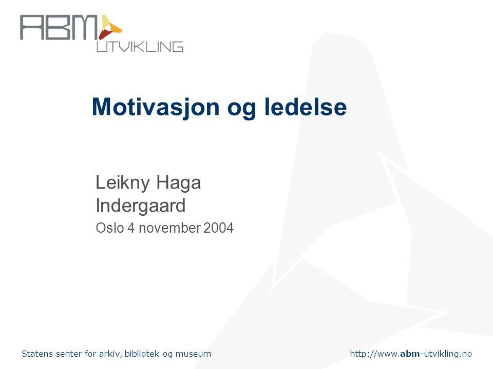 Leikny Haga Indergaard Oslo 4 november 2004