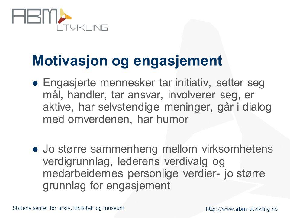 Motivasjon og engasjement