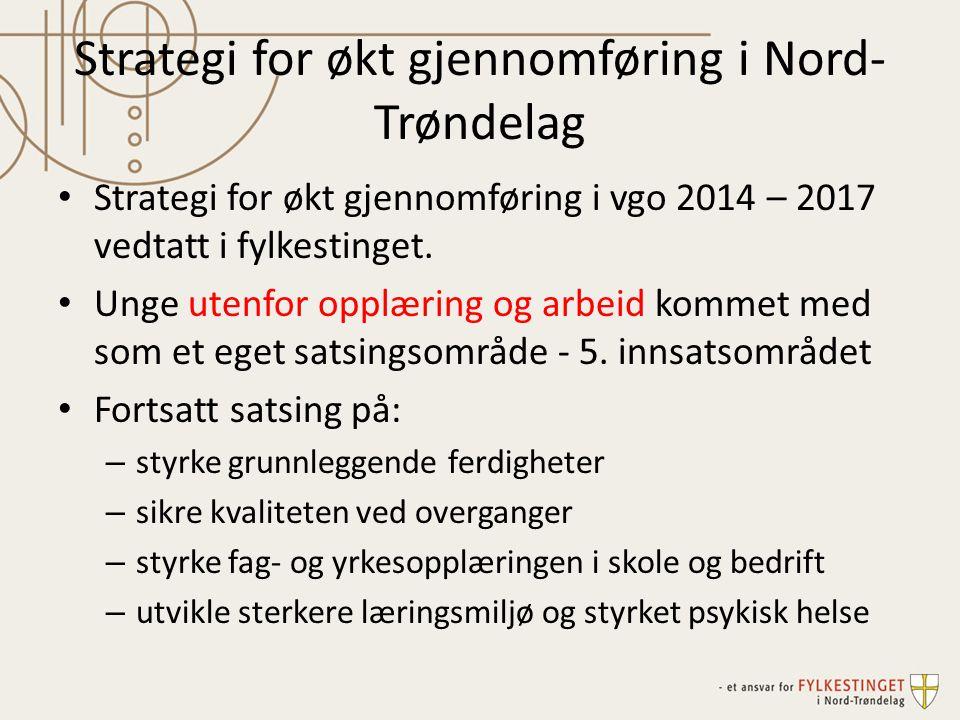 Strategi for økt gjennomføring i Nord-Trøndelag