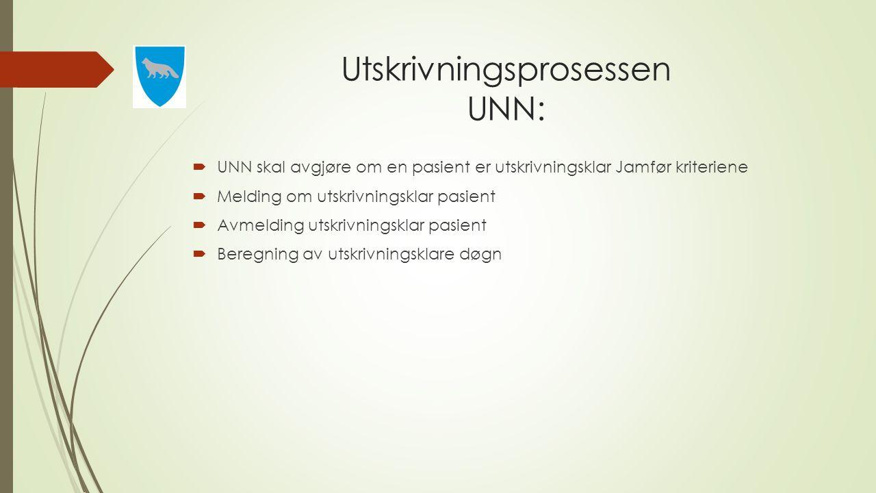 Utskrivningsprosessen UNN: