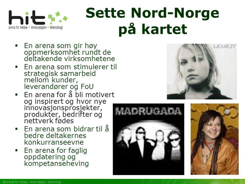 Sette Nord-Norge på kartet