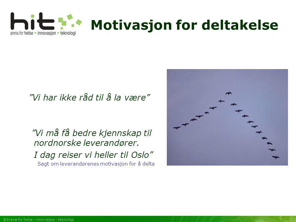 Motivasjon for deltakelse