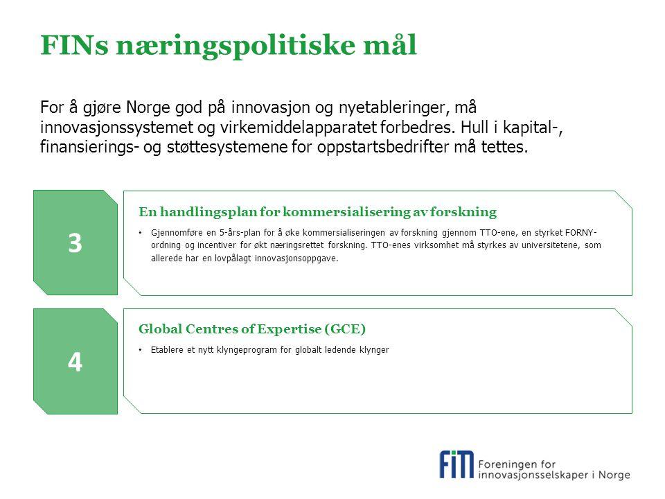 FINs næringspolitiske mål