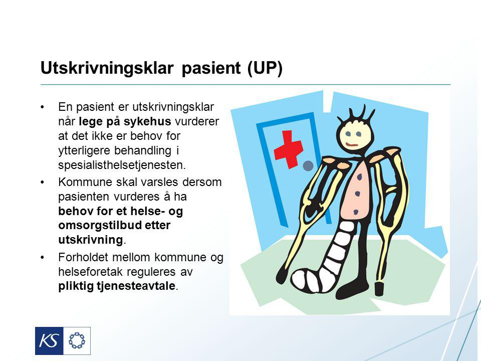 Utskrivningsklar pasient (UP)