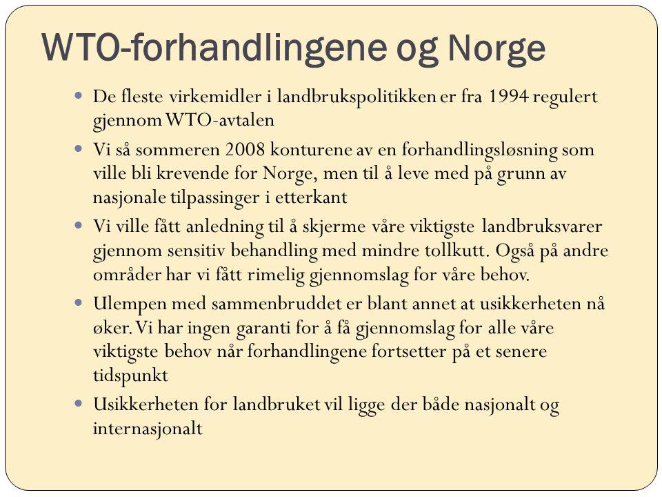 WTO-forhandlingene og Norge