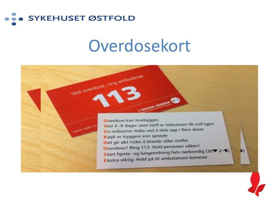 Overdosekort
