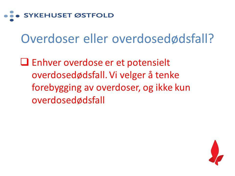 Overdoser eller overdosedødsfall