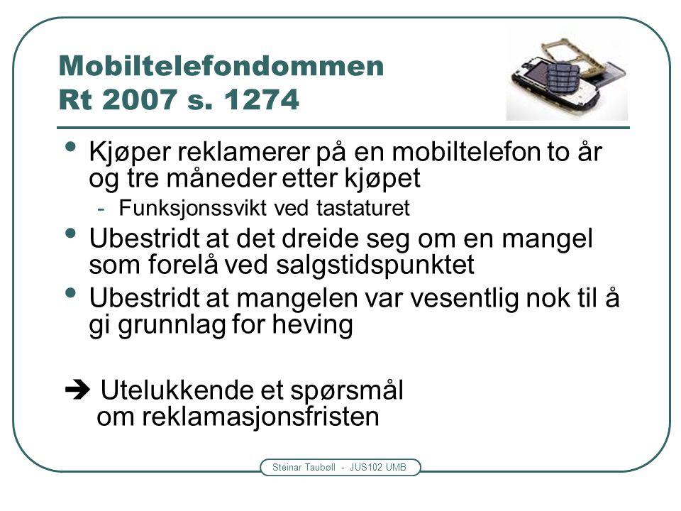 Mobiltelefondommen Rt 2007 s. 1274