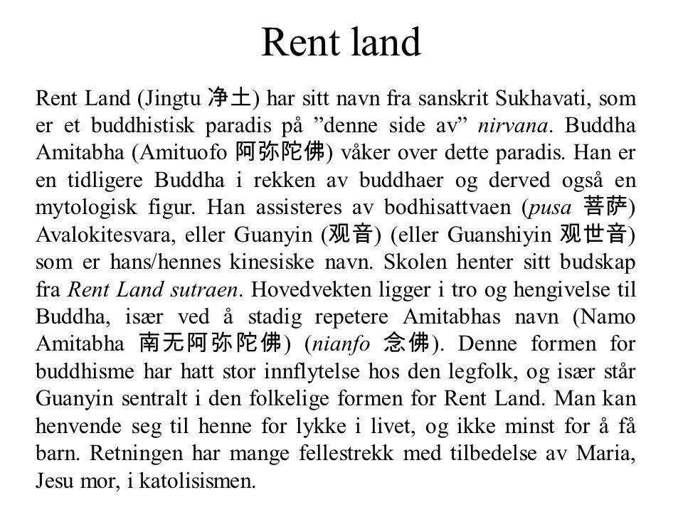 Rent land
