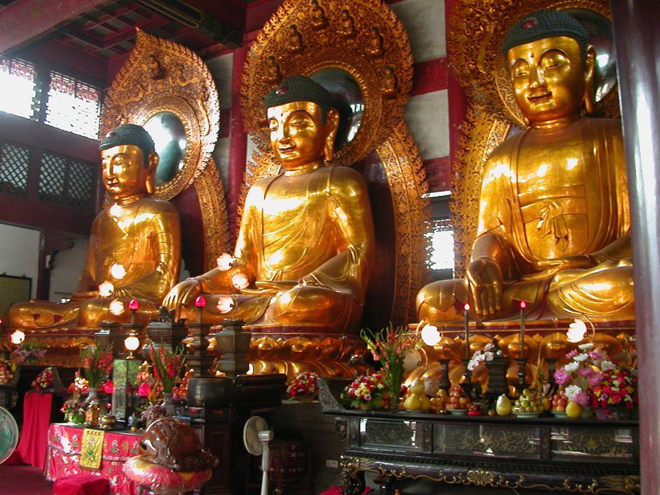 Amitabha, Sakyamuni, Maitreya