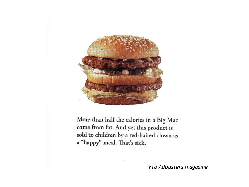 Fra Adbusters magasine