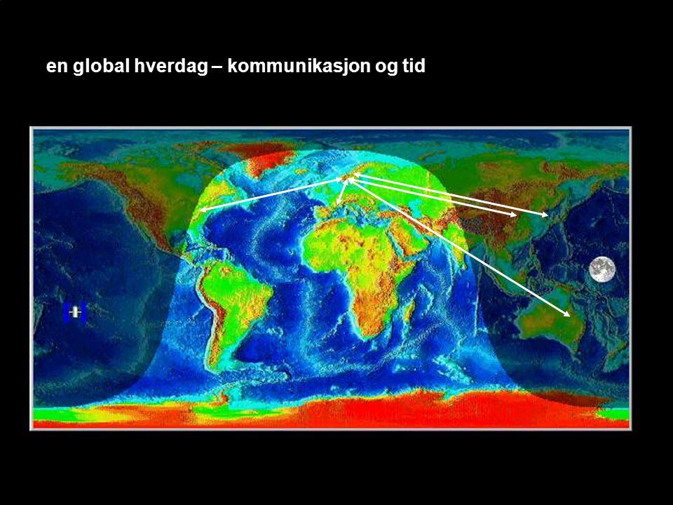 en global hverdag – kommunikasjon og tid