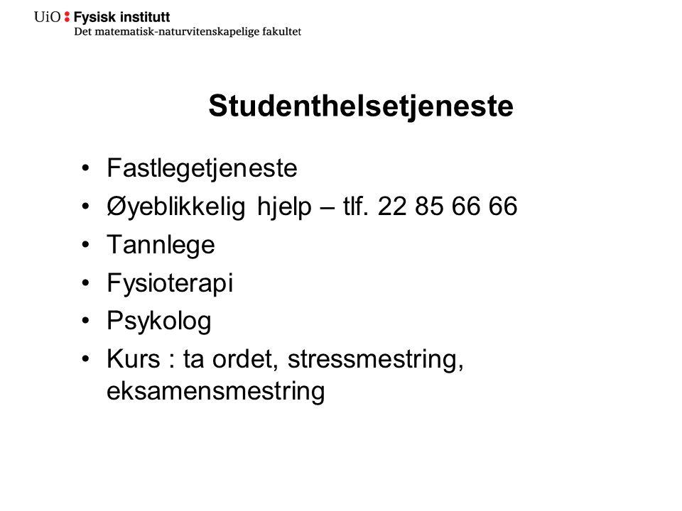 Studenthelsetjeneste