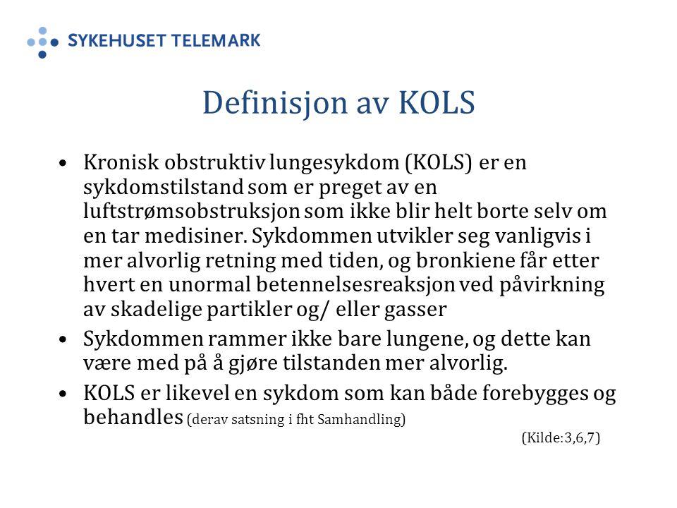 Definisjon av KOLS