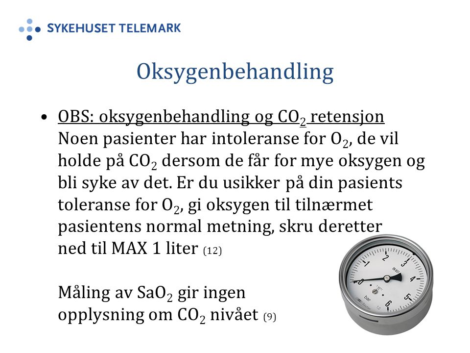 Oksygenbehandling
