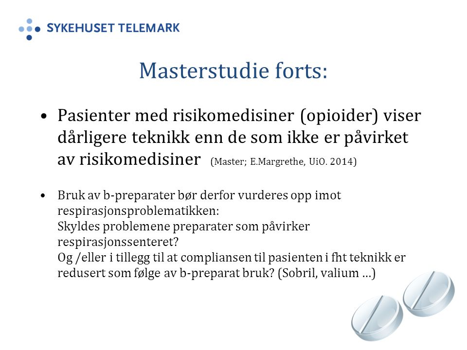Masterstudie forts:
