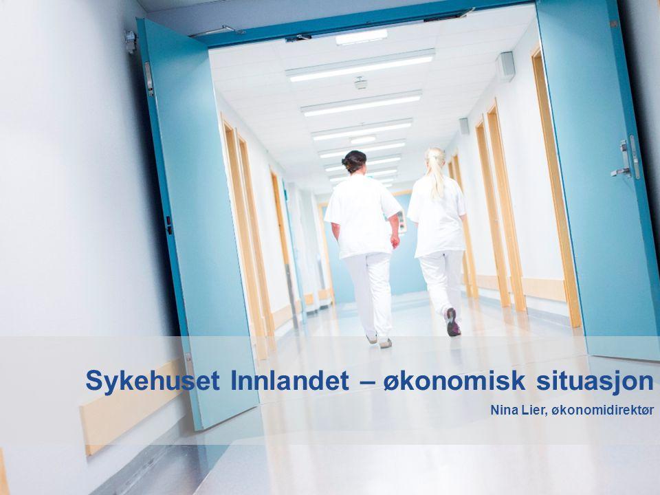 Sykehuset Innlandet – økonomisk situasjon