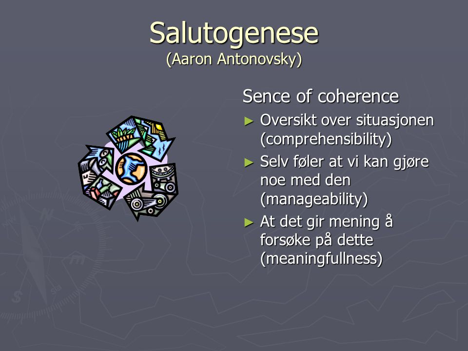Salutogenese (Aaron Antonovsky)