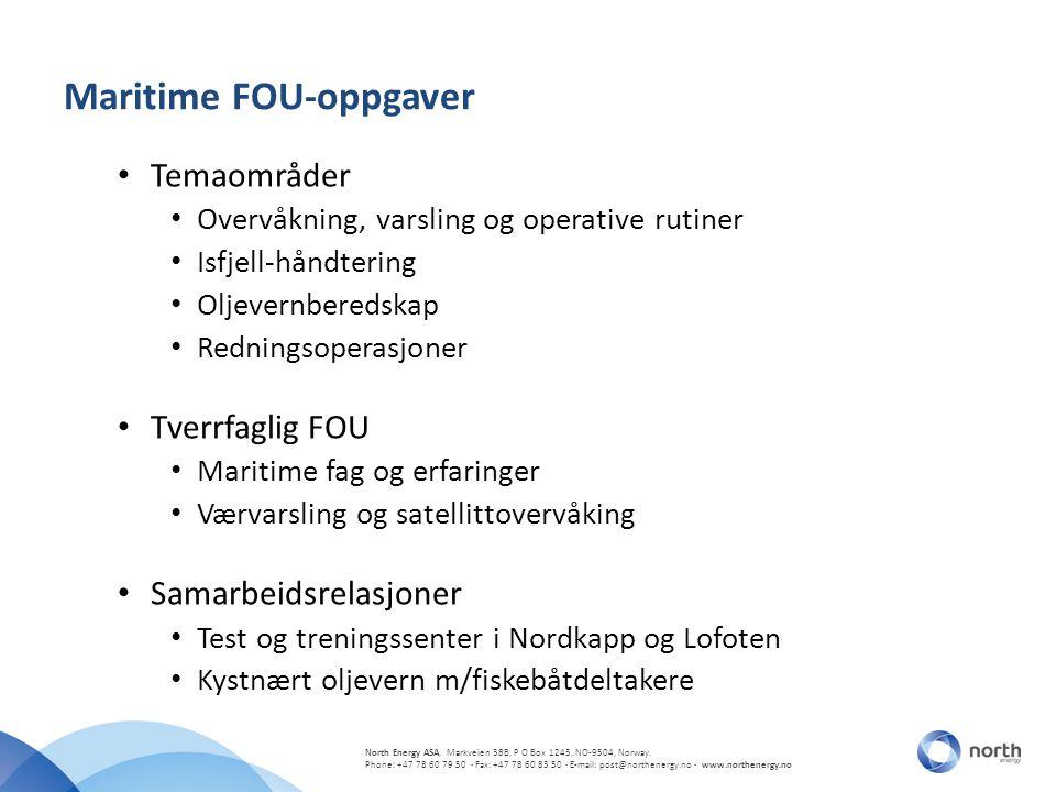 Maritime FOU-oppgaver