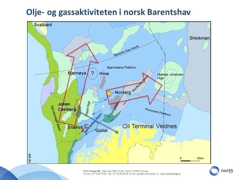 Olje- og gassaktiviteten i norsk Barentshav
