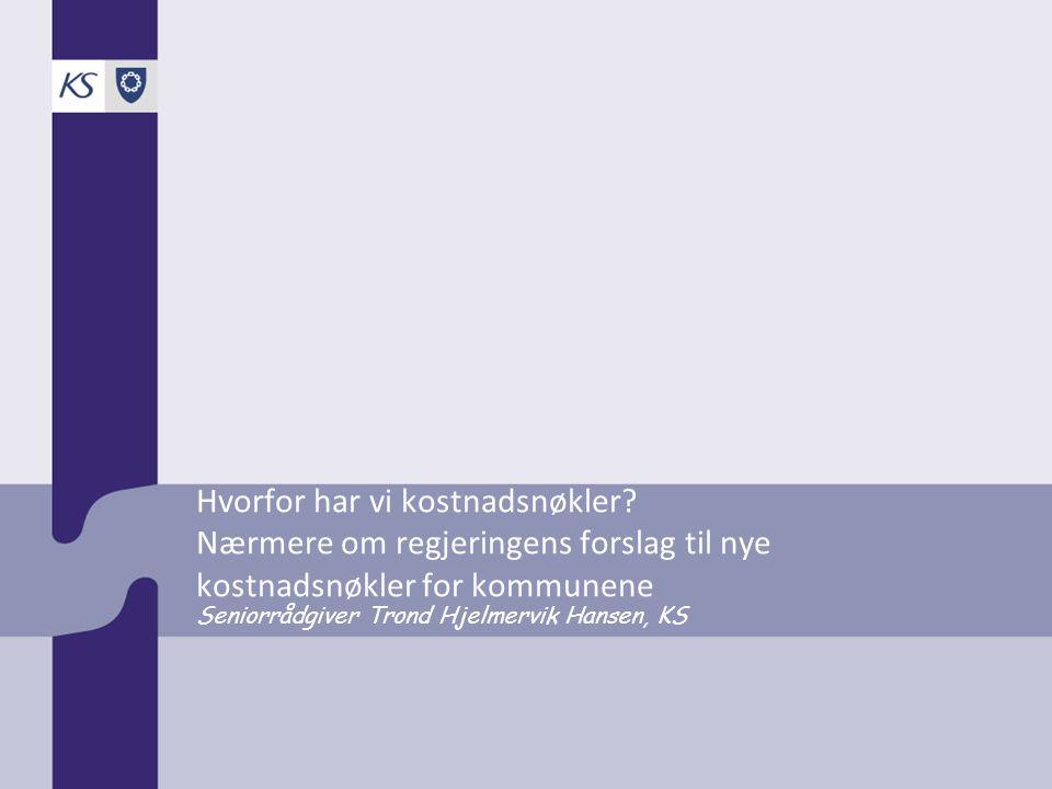 Seniorrådgiver Trond Hjelmervik Hansen, KS