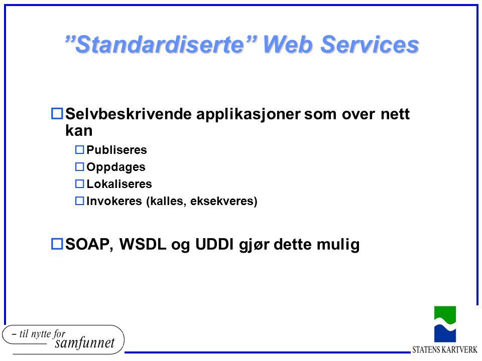 Standardiserte Web Services