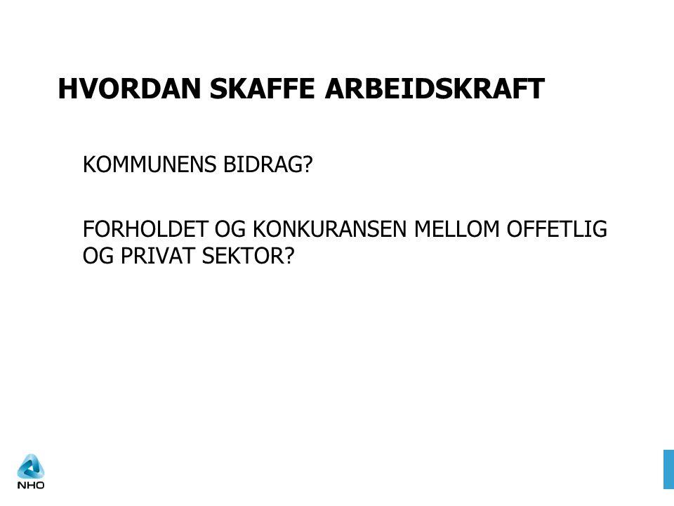 HVORDAN SKAFFE ARBEIDSKRAFT