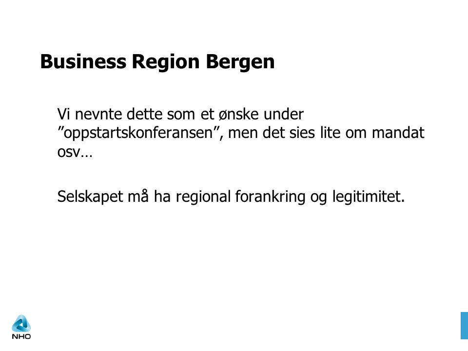 Business Region Bergen