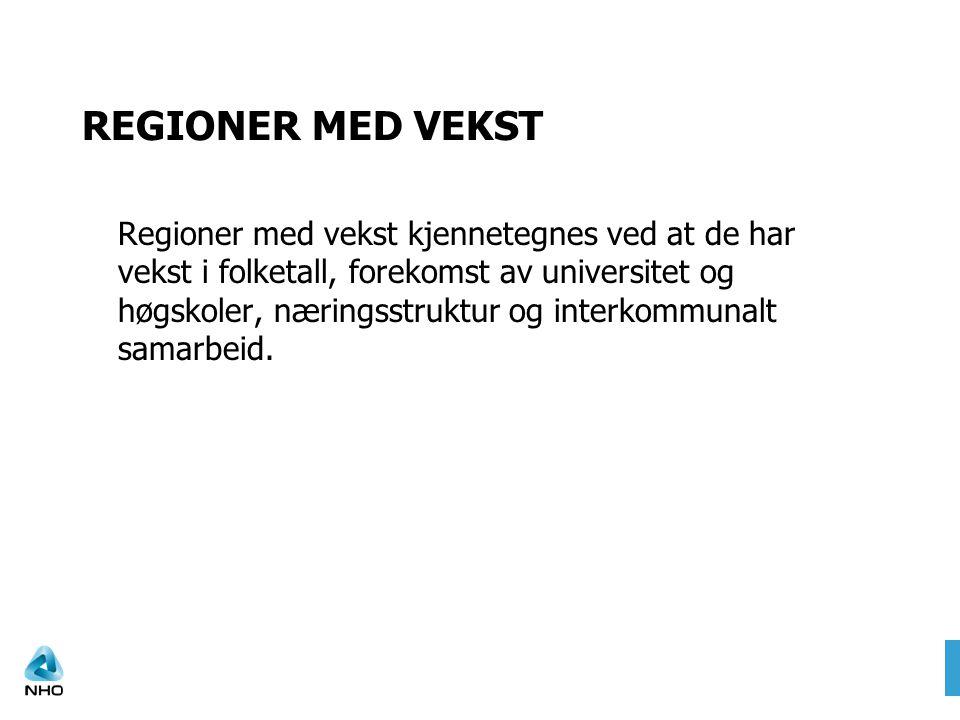 REGIONER MED VEKST