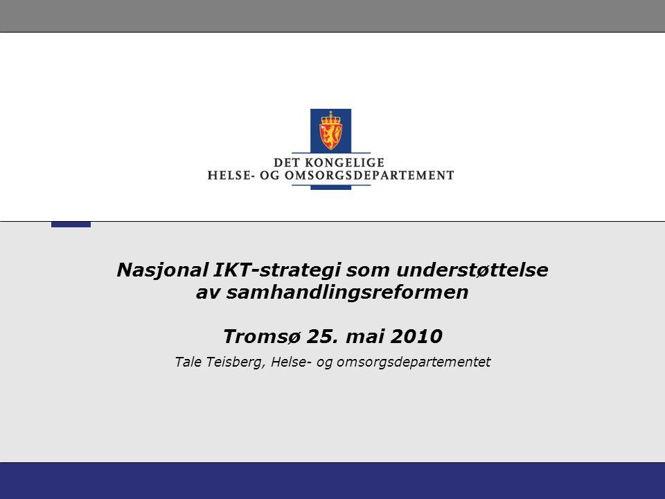 Tale Teisberg, Helse- og omsorgsdepartementet