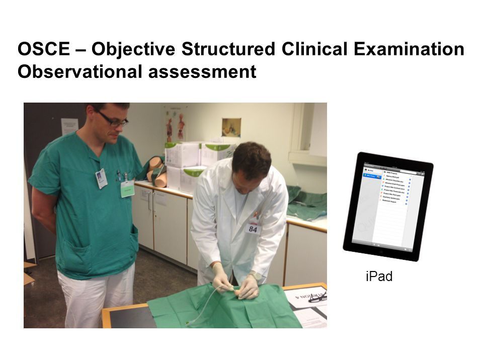 OSCE – Objective Structured Clinical Examination