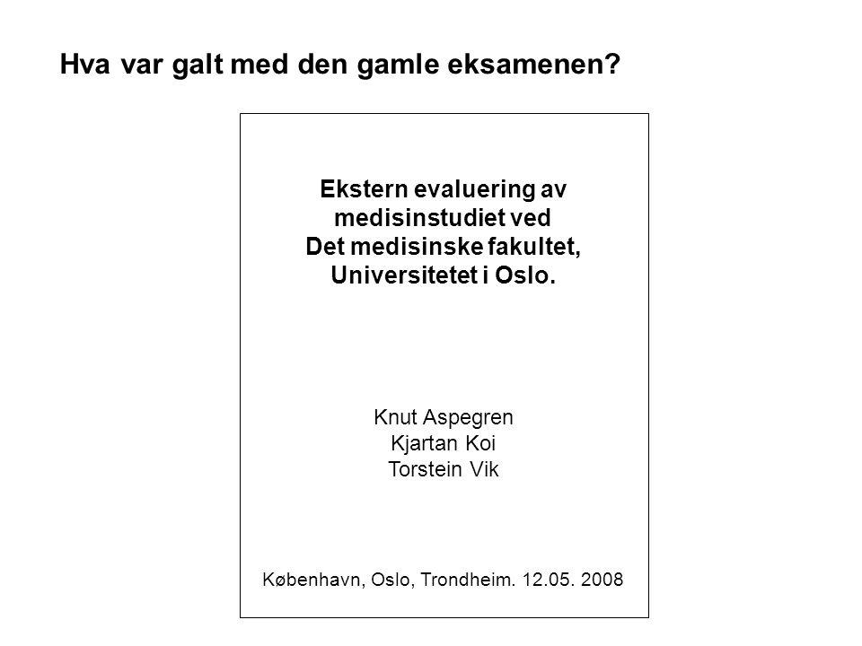 København, Oslo, Trondheim. 12.05. 2008