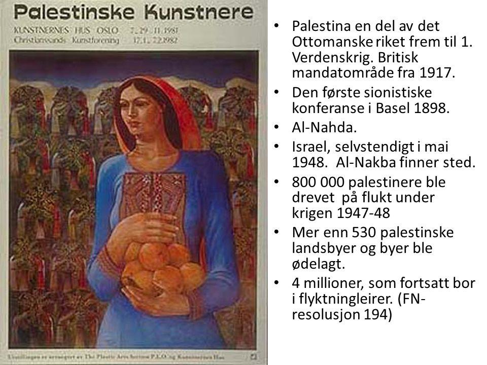 Den første sionistiske konferanse i Basel 1898. Al-Nahda.
