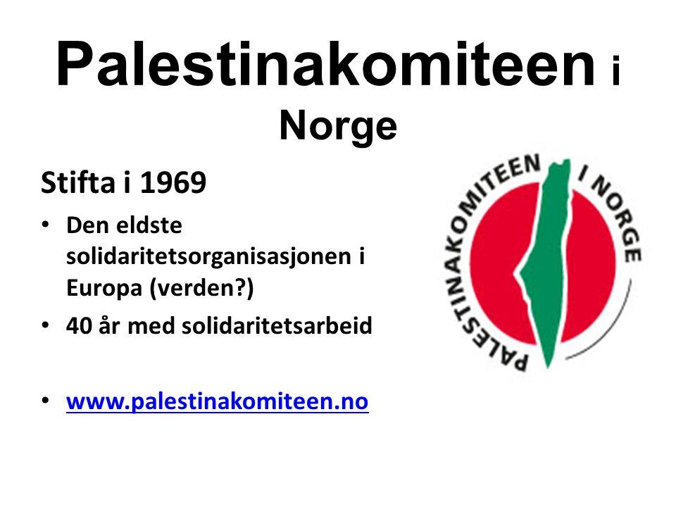 Palestinakomiteen i Norge