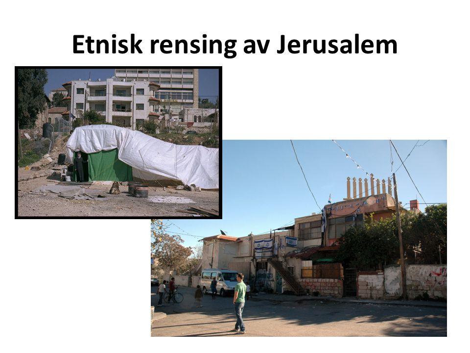 Etnisk rensing av Jerusalem