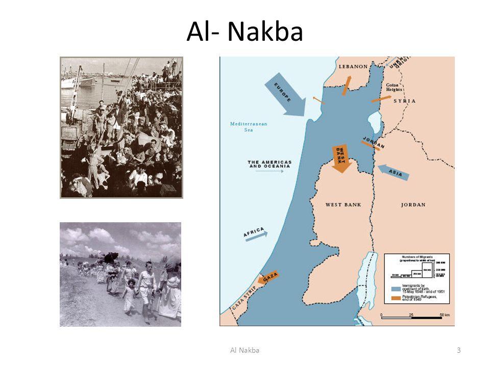 Al- Nakba Utviklingen av pal identitet etter Nakba. Al Nakba