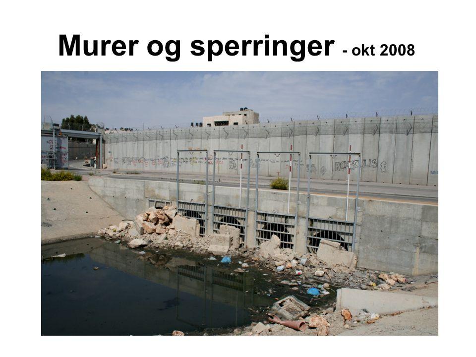 Murer og sperringer - okt 2008